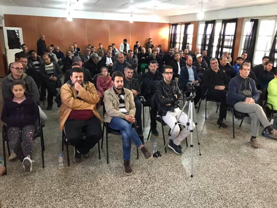 Rachid Saou et Djamel Benyoub, à Aokas le samedi 14 décembre 2019 11619