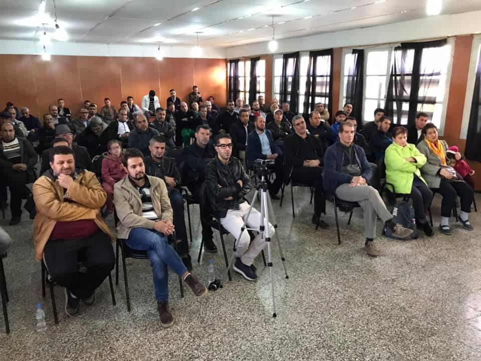 Rachid Saou et Djamel Benyoub, à Aokas le samedi 14 décembre 2019 11620