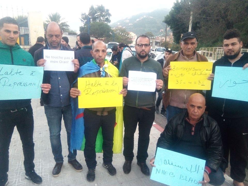 Rassemblement à Aokas en solidarité avec Oran le dimanche 15 décembre 2019 11637