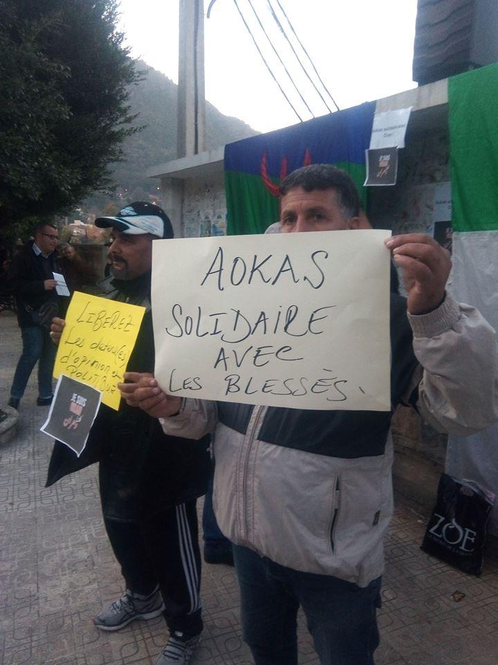 Rassemblement à Aokas en solidarité avec Oran le dimanche 15 décembre 2019 11638