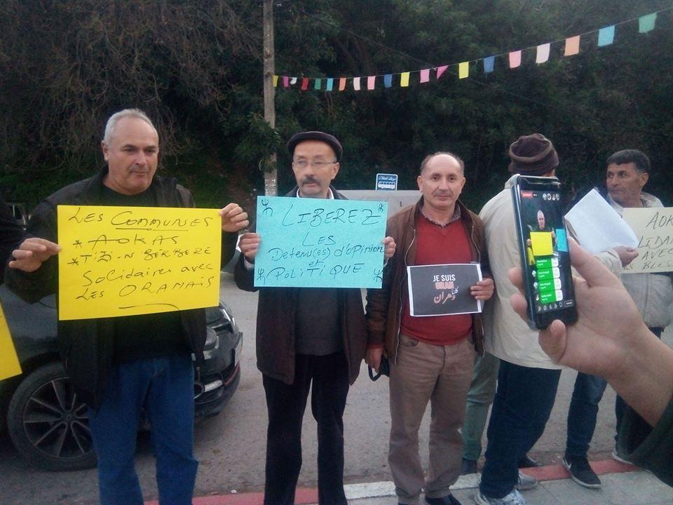 Rassemblement à Aokas en solidarité avec Oran le dimanche 15 décembre 2019 11639