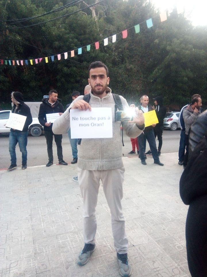 Rassemblement à Aokas en solidarité avec Oran le dimanche 15 décembre 2019 11640