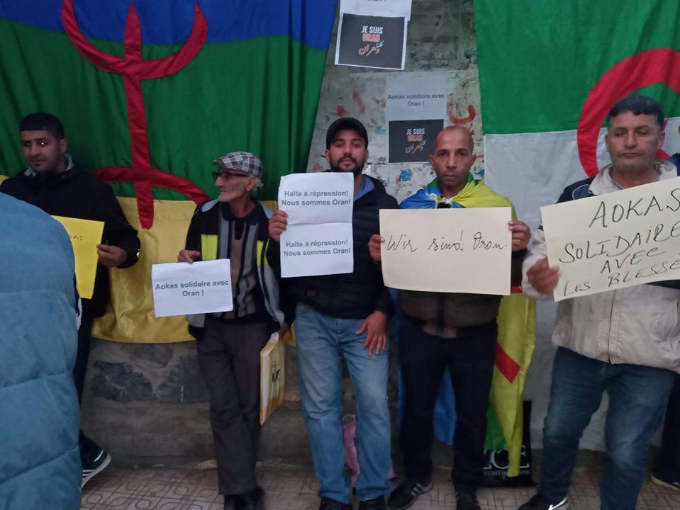 Rassemblement à Aokas en solidarité avec Oran le dimanche 15 décembre 2019 11643