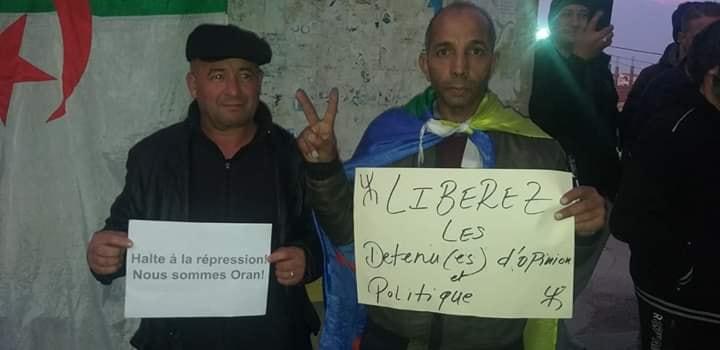 Rassemblement à Aokas en solidarité avec Oran le dimanche 15 décembre 2019 11645
