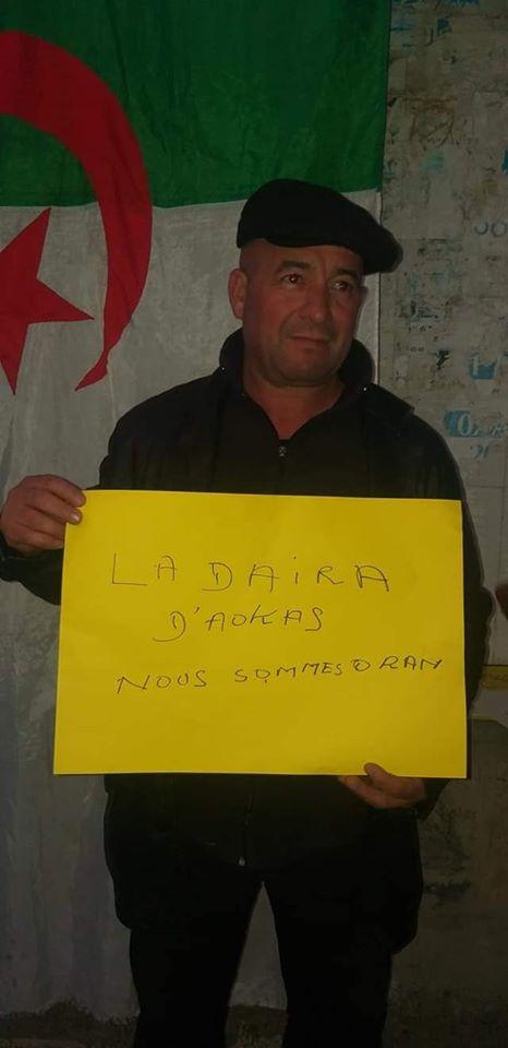 Rassemblement à Aokas en solidarité avec Oran le dimanche 15 décembre 2019 11646