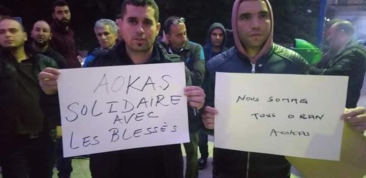 Rassemblement à Aokas en solidarité avec Oran le dimanche 15 décembre 2019 11647