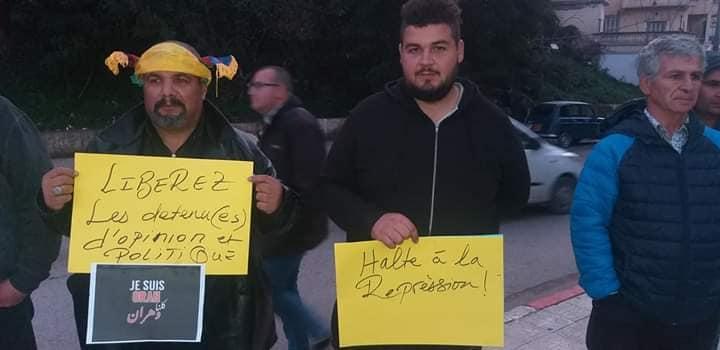 Rassemblement à Aokas en solidarité avec Oran le dimanche 15 décembre 2019 11650