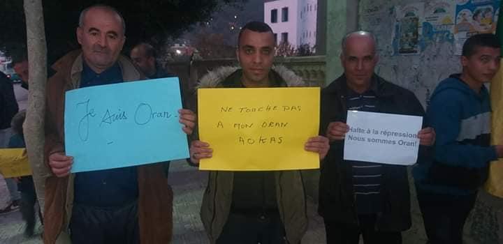 Rassemblement à Aokas en solidarité avec Oran le dimanche 15 décembre 2019 11652