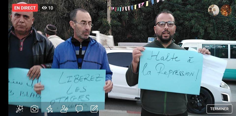 Rassemblement à Aokas en solidarité avec Oran le dimanche 15 décembre 2019 - Page 3 11679