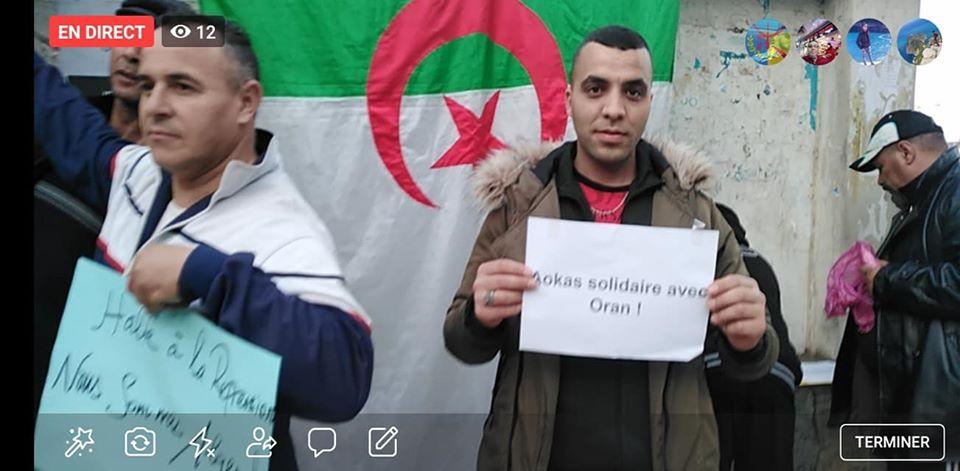 Rassemblement à Aokas en solidarité avec Oran le dimanche 15 décembre 2019 - Page 3 11680