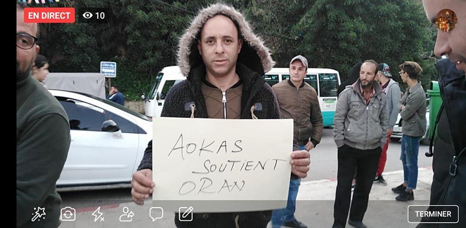 Rassemblement à Aokas en solidarité avec Oran le dimanche 15 décembre 2019 - Page 3 11681