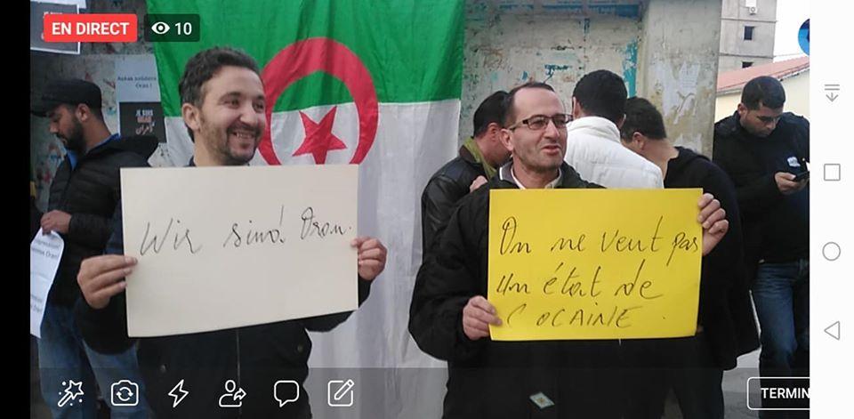 Rassemblement à Aokas en solidarité avec Oran le dimanche 15 décembre 2019 - Page 3 11685