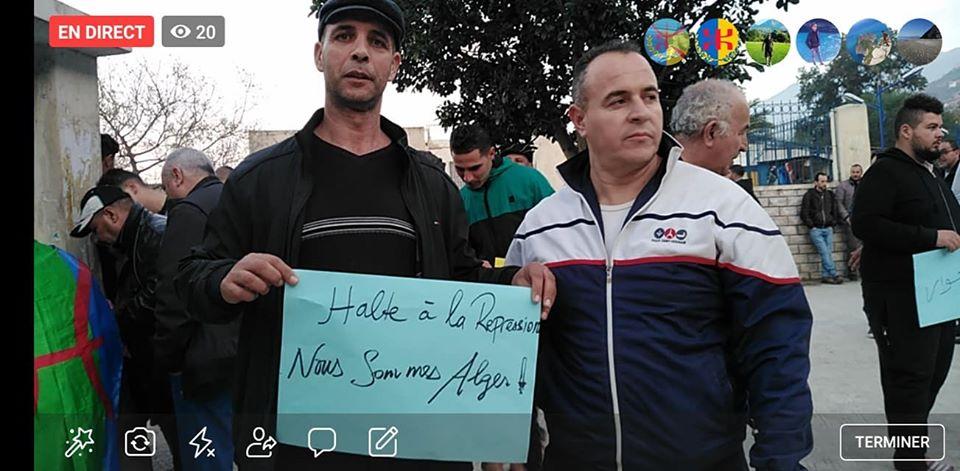 Rassemblement à Aokas en solidarité avec Oran le dimanche 15 décembre 2019 - Page 3 11687