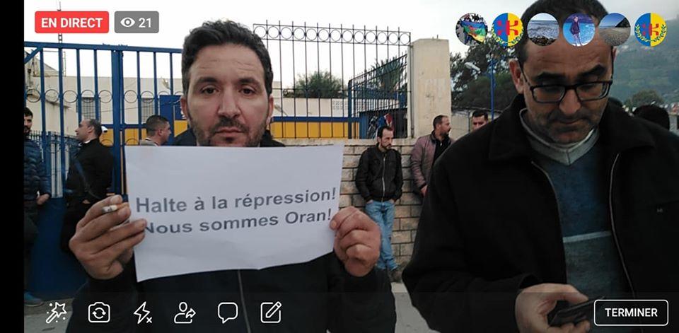 Rassemblement à Aokas en solidarité avec Oran le dimanche 15 décembre 2019 - Page 3 11689
