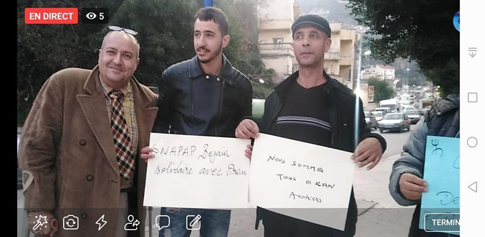 Rassemblement à Aokas en solidarité avec Oran le dimanche 15 décembre 2019 - Page 3 11690