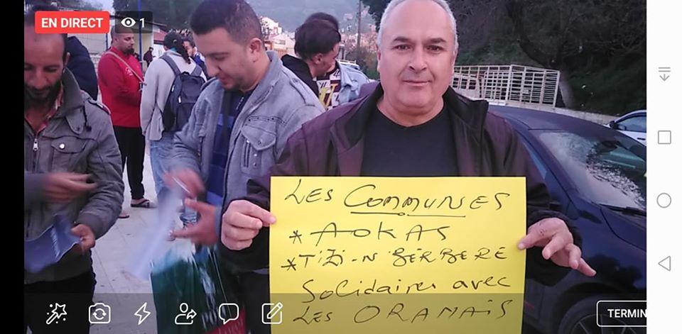 Rassemblement à Aokas en solidarité avec Oran le dimanche 15 décembre 2019 - Page 3 11691