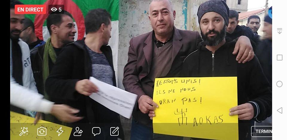 Rassemblement à Aokas en solidarité avec Oran le dimanche 15 décembre 2019 - Page 3 11692