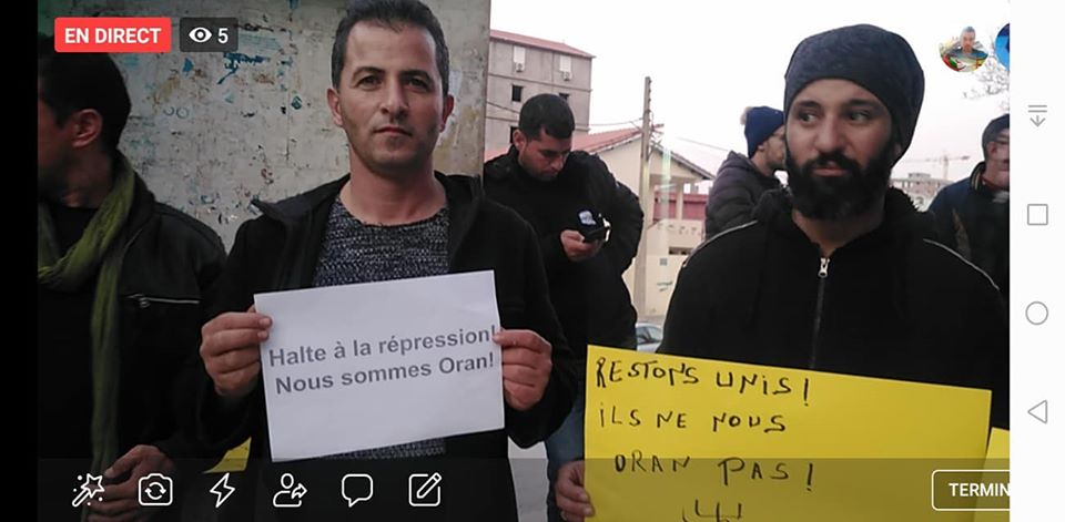 Rassemblement à Aokas en solidarité avec Oran le dimanche 15 décembre 2019 - Page 3 11693