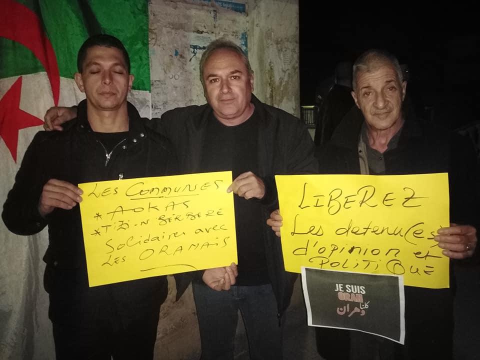 Rassemblement à Aokas en solidarité avec Oran le dimanche 15 décembre 2019 - Page 3 11695