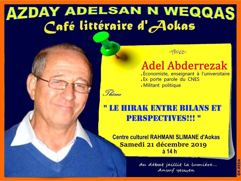 Adel Abderezak  à Aokas le samedi 21 décembre 2019 11726