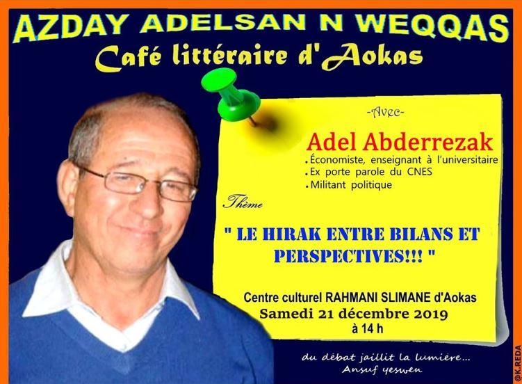 Adel Abderezak  à Aokas le samedi 21 décembre 2019 11727