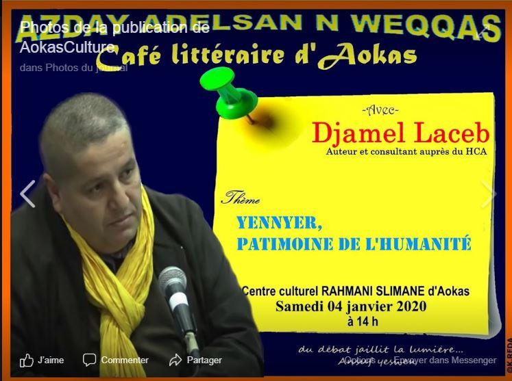 Djamel Laceb à Aokas le samedi 04 janvier 2020 11783