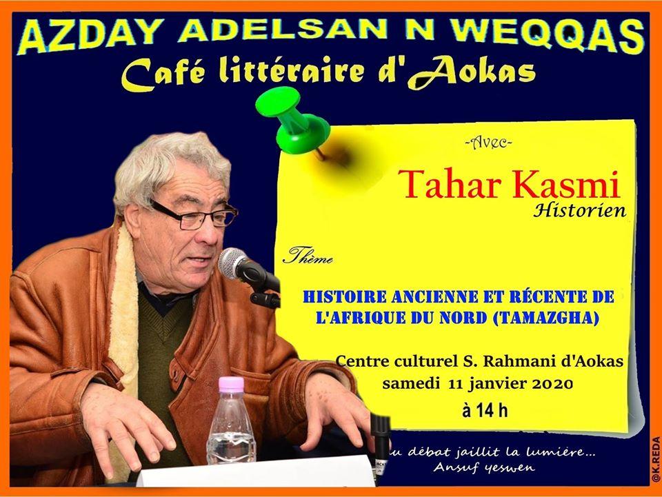 Tahar Kasmi à Aokas le samedi 11 janvier 2020 11800