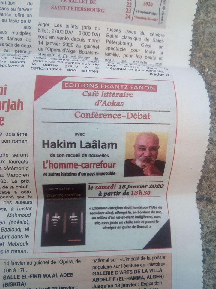 Hakim Laâlam à Aokas le samedi 18 janvier 2020 - Page 3 11834