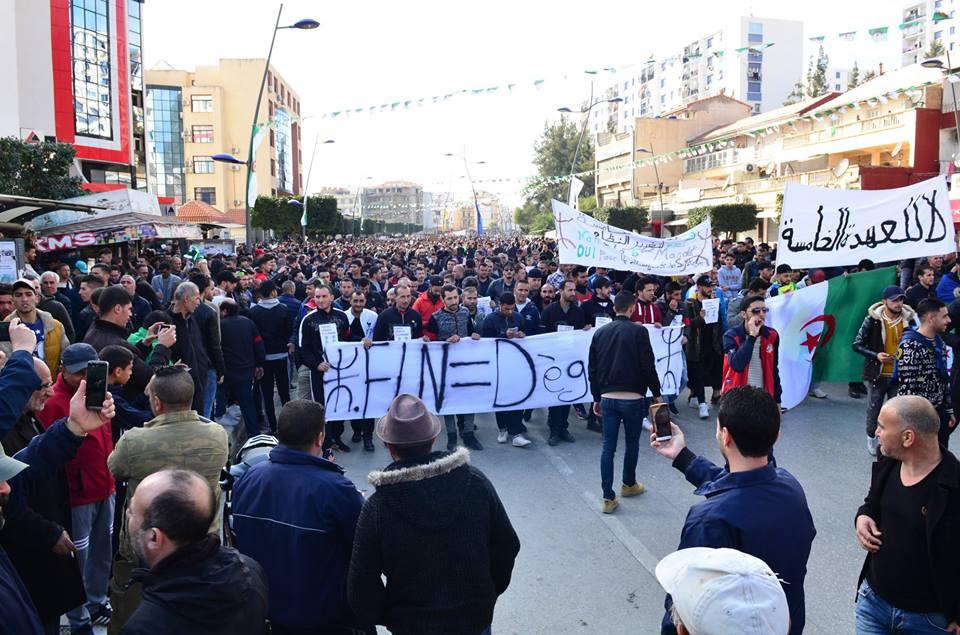 imposante marche contre le 5e mandat de Bouteflika à Bejaia le vendredi 22 février 2019 1185