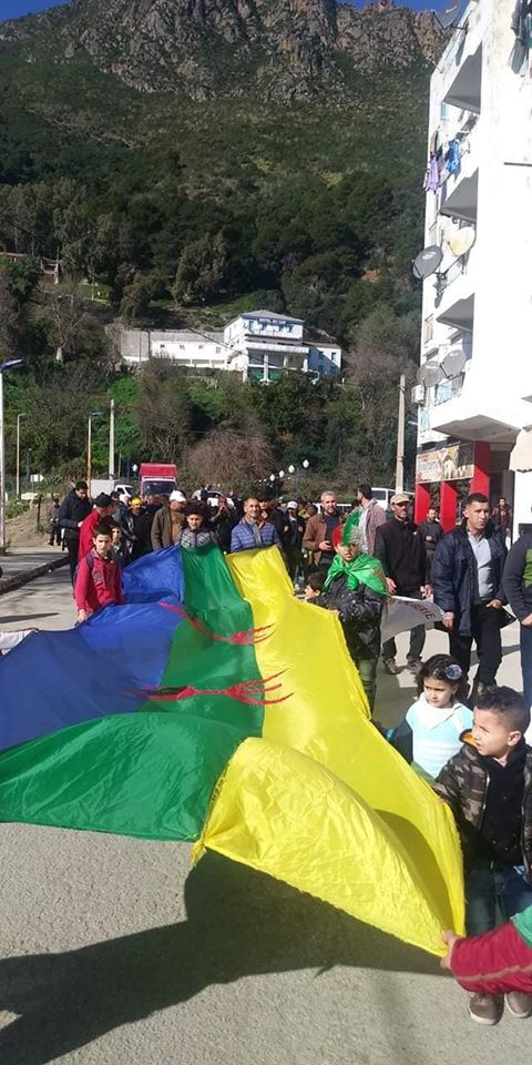 marche populaire 0 Aokas le 01 février 2020 contre le systeme  11878