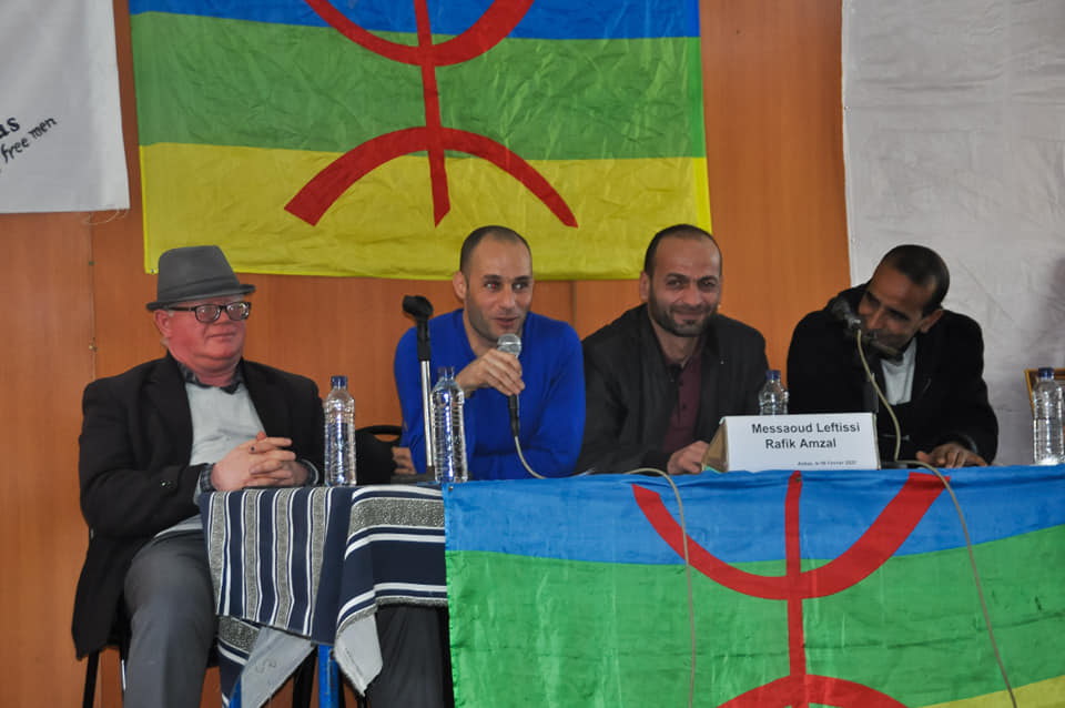 Messaoud Leftissi et Rafik Amzal à Aokas le samedi 08 fevrier 2020 11884