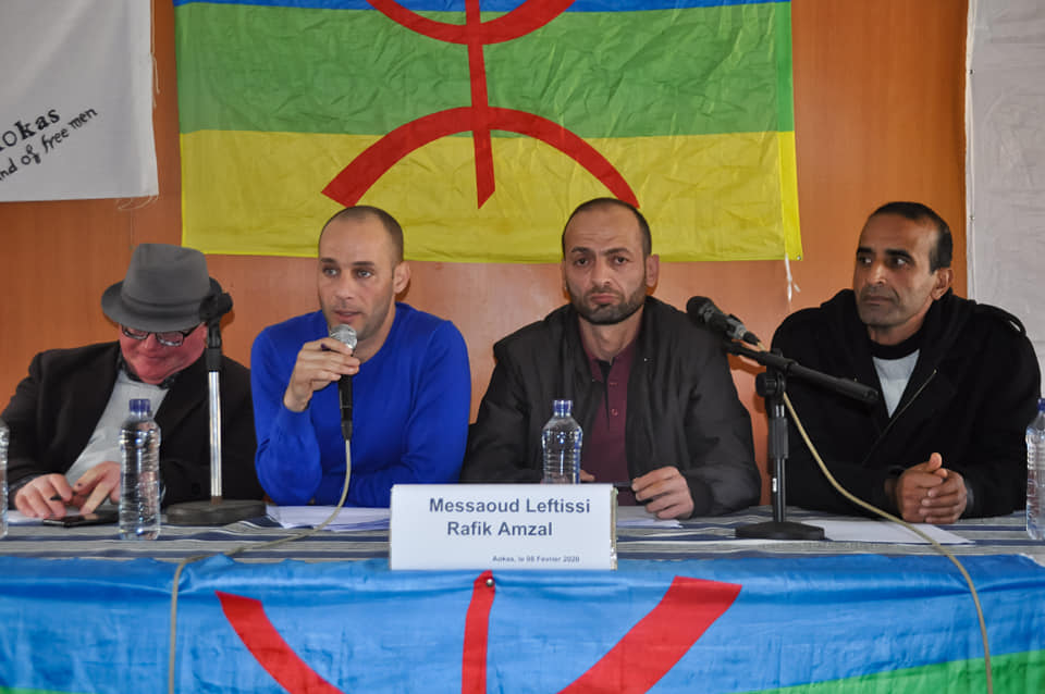 Messaoud Leftissi et Rafik Amzal à Aokas le samedi 08 fevrier 2020 11886