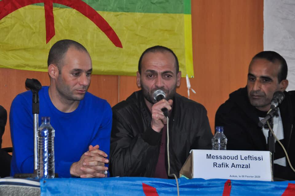Messaoud Leftissi et Rafik Amzal à Aokas le samedi 08 fevrier 2020 11888