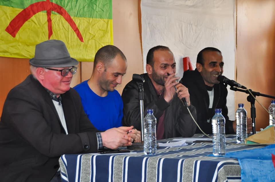 Messaoud Leftissi et Rafik Amzal à Aokas le samedi 08 fevrier 2020 11889