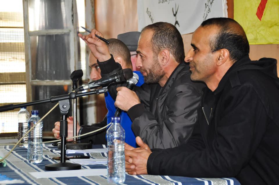 Messaoud Leftissi et Rafik Amzal à Aokas le samedi 08 fevrier 2020 11890