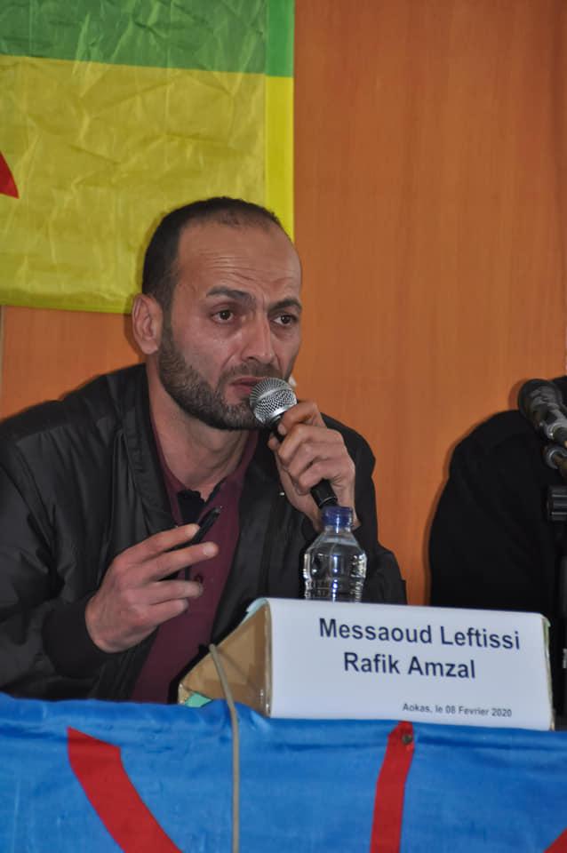 Messaoud Leftissi et Rafik Amzal à Aokas le samedi 08 fevrier 2020 11892