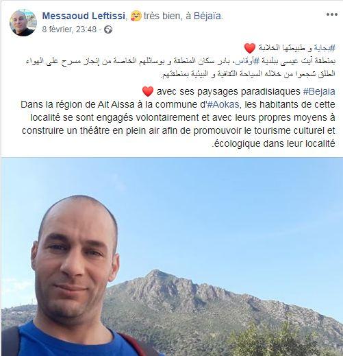 Messaoud Leftissi et Rafik Amzal à Aokas le samedi 08 fevrier 2020 - Page 2 11946