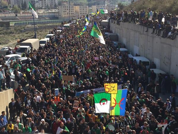 1er anniversaire du Hirak : Imposante marche à Kherrata (16 fevrier 2020) 11987