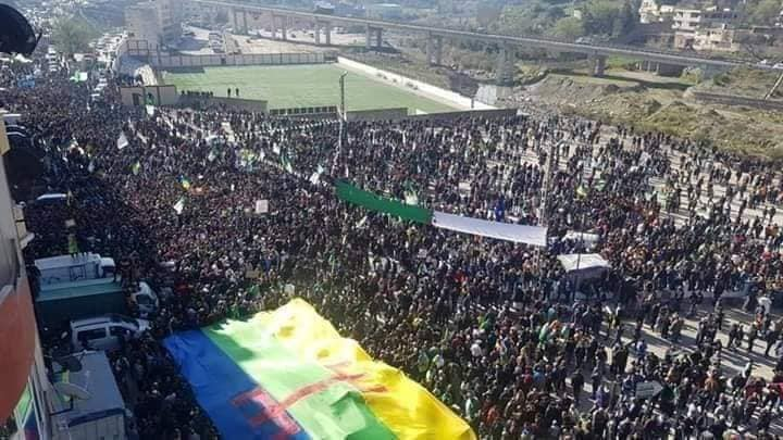 1er anniversaire du Hirak : Imposante marche à Kherrata (16 fevrier 2020) 11990