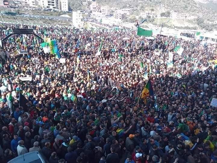 1er anniversaire du Hirak : Imposante marche à Kherrata (16 fevrier 2020) 11992