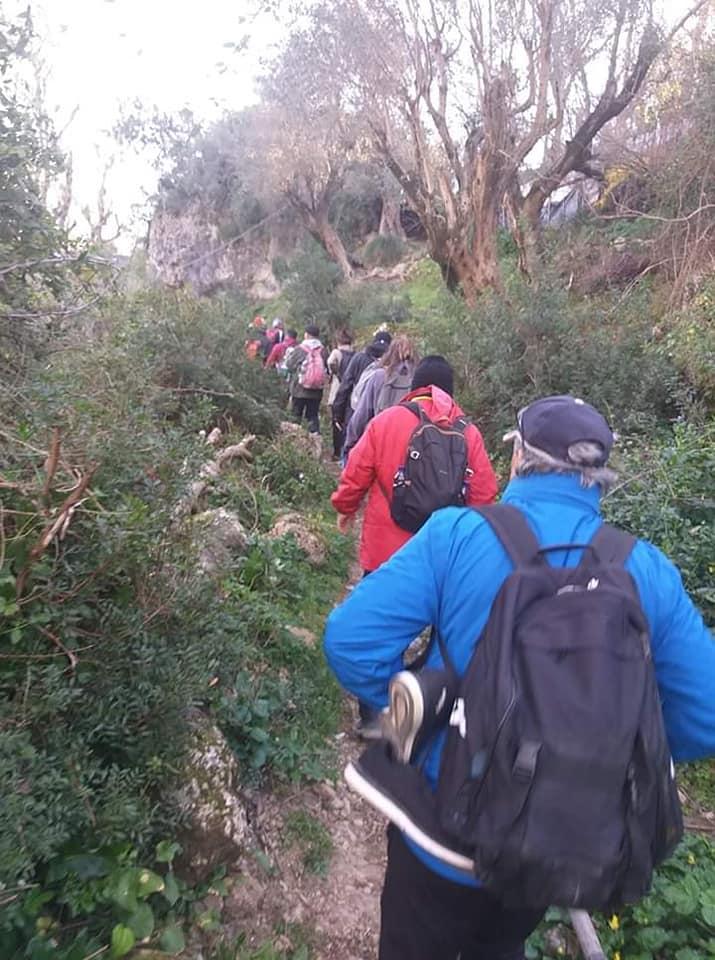 Randonnée pédestre Akkache, Cascade Mahrouja- cimetière des Martyrs- le canyon BOUHALOUMEN-Tizi warle samedi 22 février 2020 12123