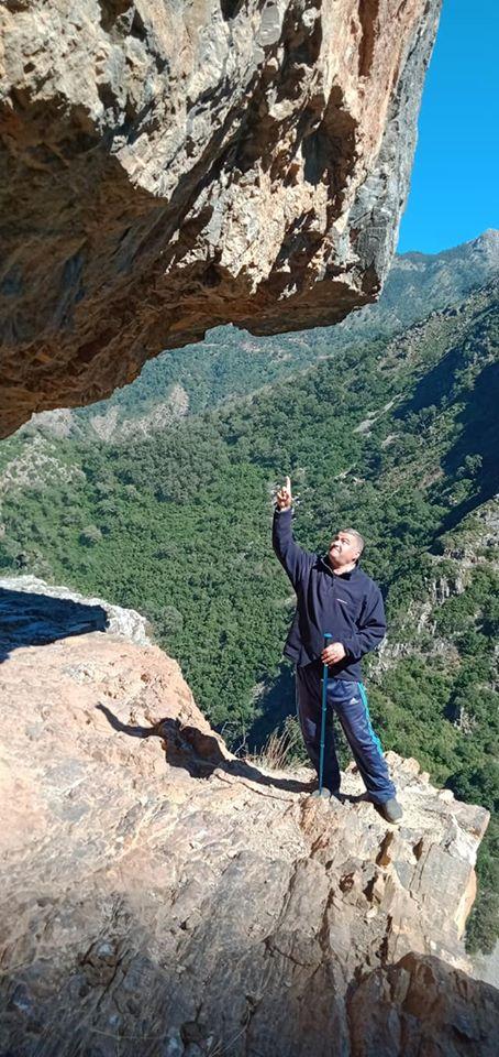 Randonnée pédestre Akkache, Cascade Mahrouja- cimetière des Martyrs- le canyon BOUHALOUMEN-Tizi warle samedi 22 février 2020 12126