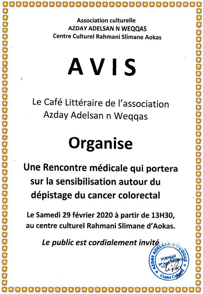 rencontre medicale à Aokas le samedi 29 fevrier 2020 12127