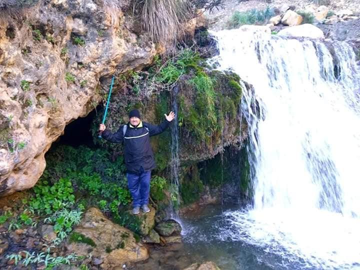 Randonnée pédestre Akkache, Cascade Mahrouja- cimetière des Martyrs- le canyon BOUHALOUMEN-Tizi warle samedi 22 février 2020 12133