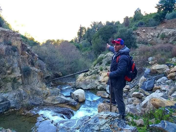 Randonnée pédestre Akkache, Cascade Mahrouja- cimetière des Martyrs- le canyon BOUHALOUMEN-Tizi warle samedi 22 février 2020 12134
