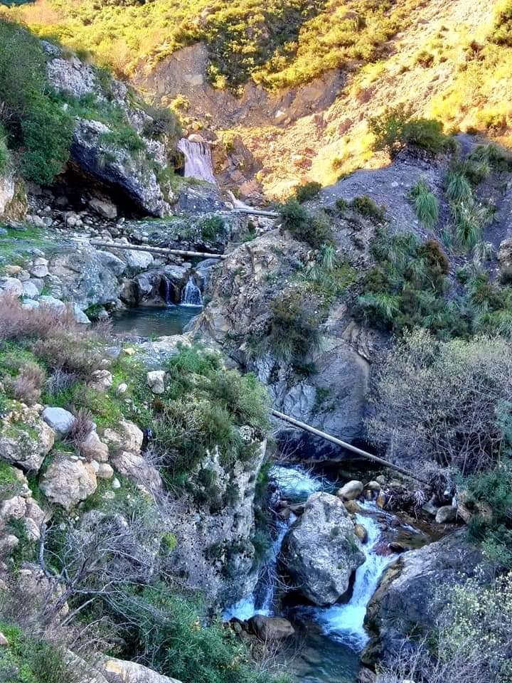 Randonnée pédestre Akkache, Cascade Mahrouja- cimetière des Martyrs- le canyon BOUHALOUMEN-Tizi warle samedi 22 février 2020 12137