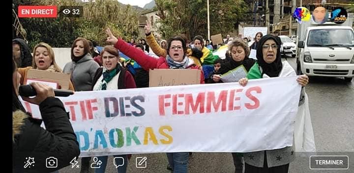 Marche à Aokas pour les droits des femmes (mars 2020) 12270