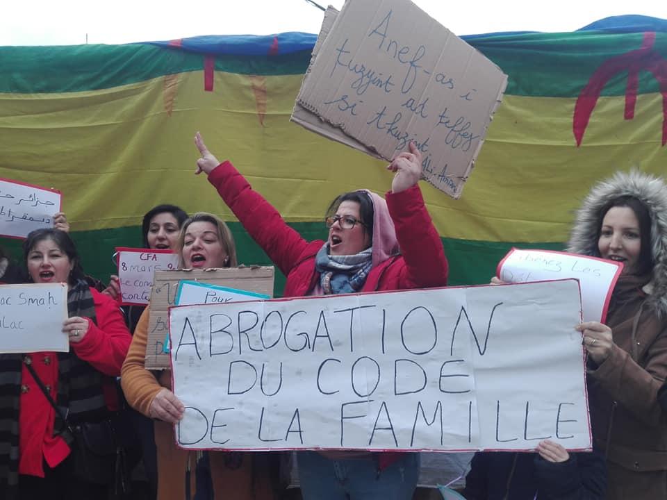 Marche à Aokas pour les droits des femmes (mars 2020) 12273