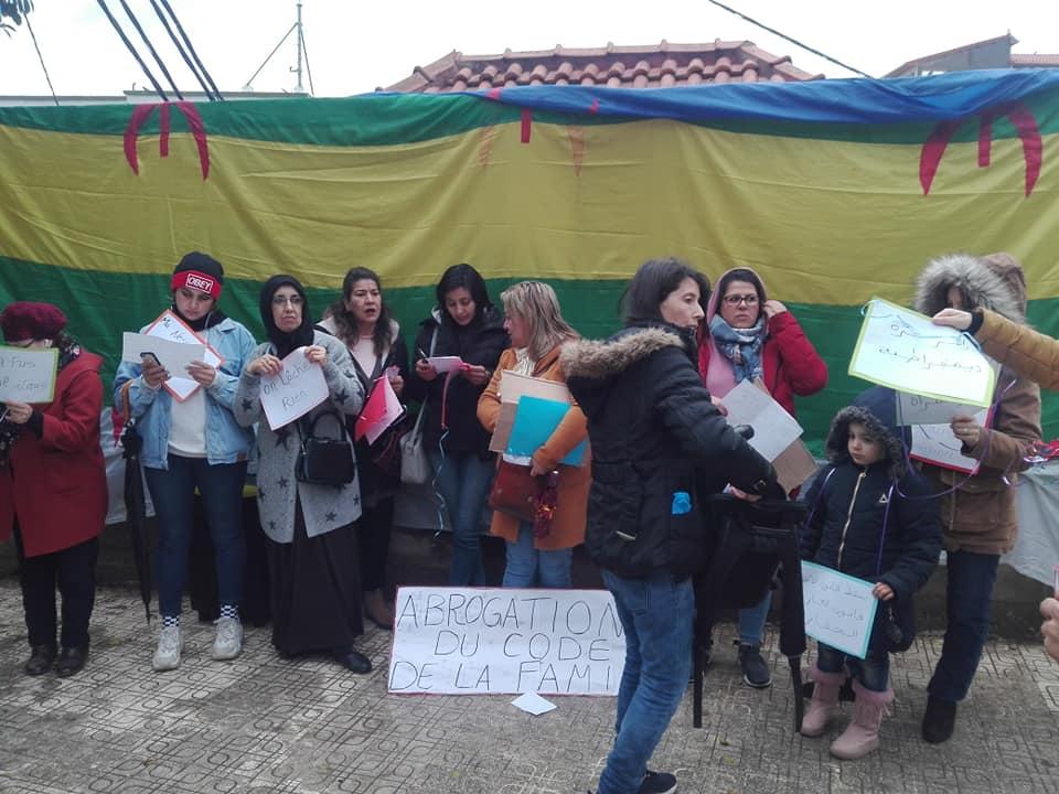 Marche à Aokas pour les droits des femmes (mars 2020) 12287
