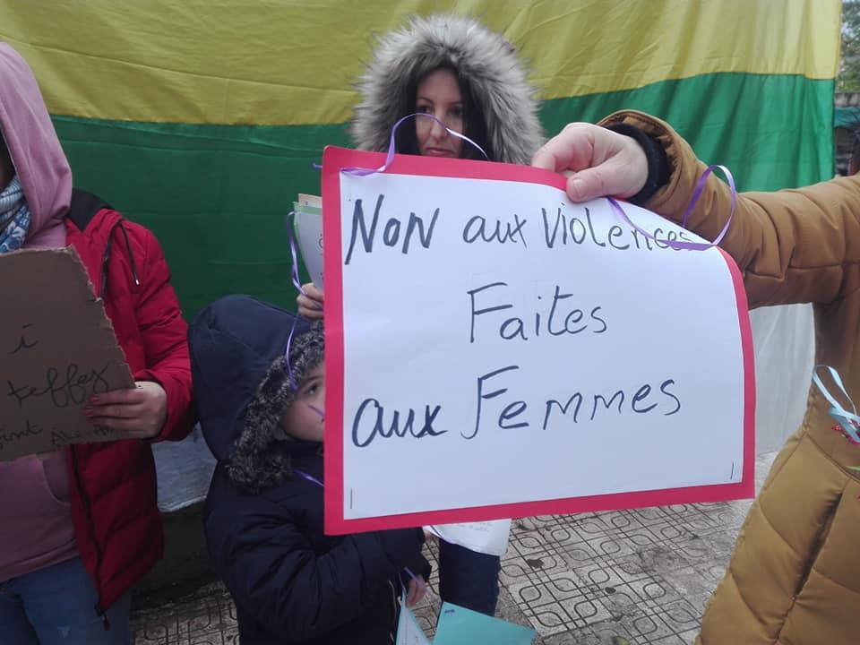 Marche à Aokas pour les droits des femmes (mars 2020) 12289